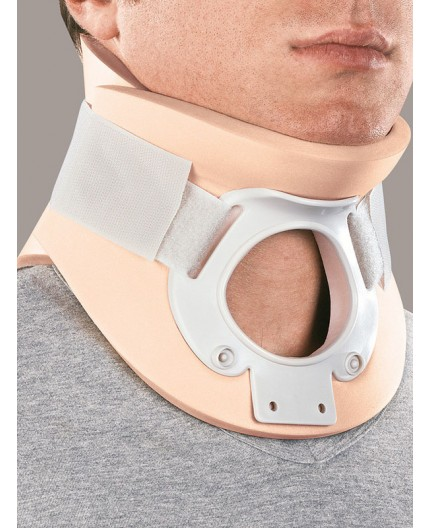 Cervistable Collare Cervicale Bivalva con Foro Tracheale