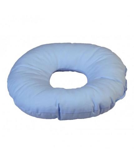 Cuscino in Fibra Cava Siliconata Circolare di Dimensioni Ridotte