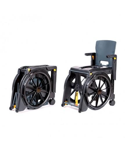 Seatara WheelAble Sedia a Rotelle da Viaggio e Sedia da Doccia